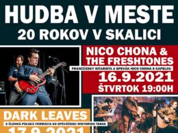 Festival Hudba v Meste - 20 rokov v Skalici!
