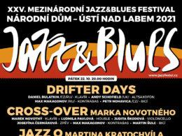 Festival Jazz & Blues 2021 Ustí nad Labem